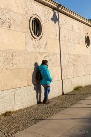Muur van het Abgeordnetenhaus